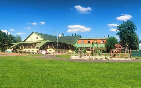 3–4denní wellness pobyt pro 1 či 2 osoby v rekreačním středisku Budoucnost v Beskydech