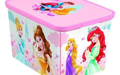 Úložný box Curver Amsterdam Princezny vel. L