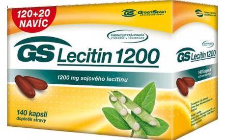 GS Lecitin 1200 - 120 + 20 kapslí