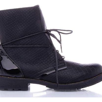 Kotníkové boty 6723-1B 39