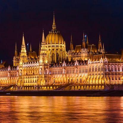 Corvin Hotel Budapest - Corvin Wing****, 4* pobyt v krásném historickém městě s jedinečnými lázněmi