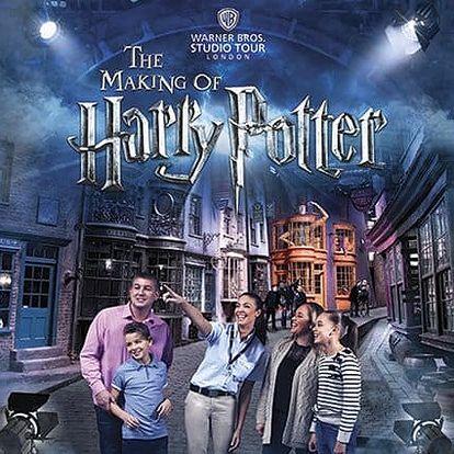 3denní zájezd za Harry Potterem do Londýna s prohlídkou města pro 1