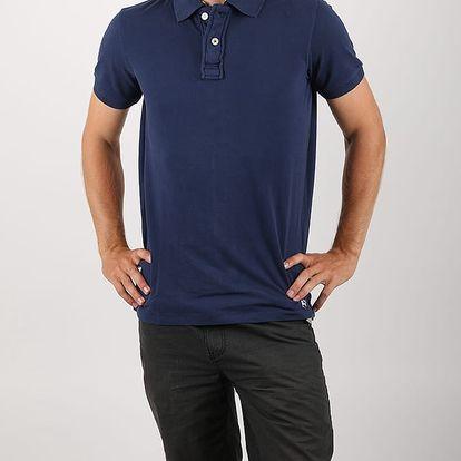 Tričko Alcott SOLID COLOUR Modrá
