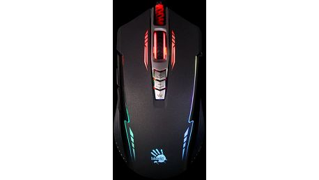 A4tech Bloody P93, Core 2 - P93 BLACK + Podložka CZC G-Vision Dark v ceně 200kč