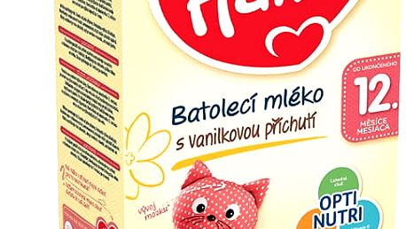 3x HAMI 12+ s příchutí vanilky (600 g) – kojenecké mléko