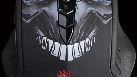 A4tech Bloody R80, Core 2, černá + Podložka CZC G-Vision Dark v ceně 200kč