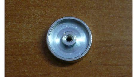 kovový střed struové hlavy šedé (55607-02)