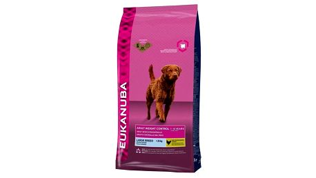 Granule Eukanuba Adult Large Light/Weight Controlt 15 kg + Doprava zdarma