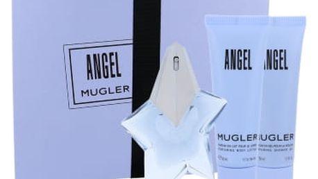Thierry Mugler Angel dárková kazeta pro ženy parfémovaná voda 25 ml + tělové mléko 50 ml + sprchový gel 50 ml