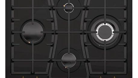 Plynová varná deska Gorenje Classico GW 65 CLB černá