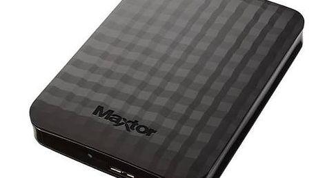 """Externí pevný disk 2,5"""" Maxtor M3 Portable 2TB (STSHX-M201TCBM) černý"""