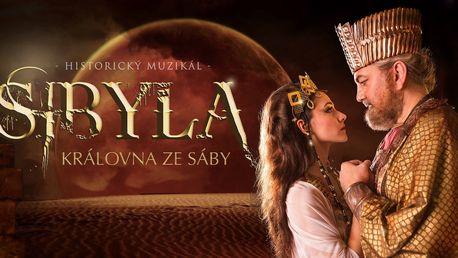 Vstupenky na muzikál Sibyla do Divadla Hybernia