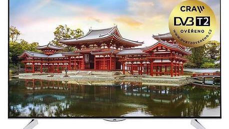 Televize JVC LT-43VU72A černá + Doprava zdarma