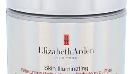Elizabeth Arden Skin Illuminating Retexturizing Pads 50 ks pleťové sérum pro ženy