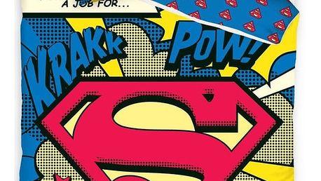 Carbotex povlečení Superman - Komiks 140x200 70x80