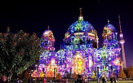Světelná show v Berlíně. Užijte si okouzlující zážitek v německém hlavním městě.