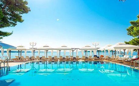 Hotel Punta****, 4* hotel u moře nedaleko národních parků Kornati a Krka