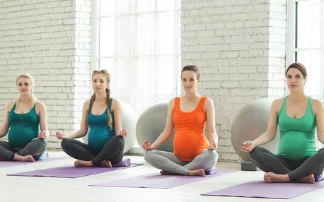 Těhotenská jóga nebo jóga v anglickém jazyce