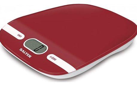 Kuchyňská digitální váha Salter 1071, červená