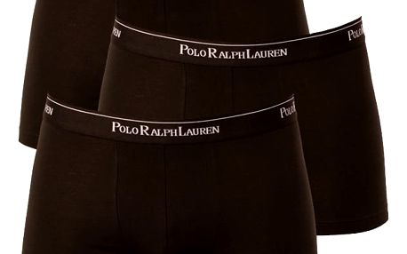 3PACK pánské boxerky Ralph Lauren černá XL