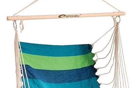 Houpačka Spokey sedátko BENCH modrý/zelený