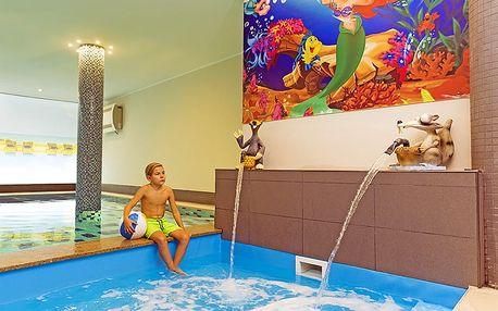 Dovolená u Balatonu: luxusní 4* hotel, neomezené wellness a plná penze + zábava pro děti