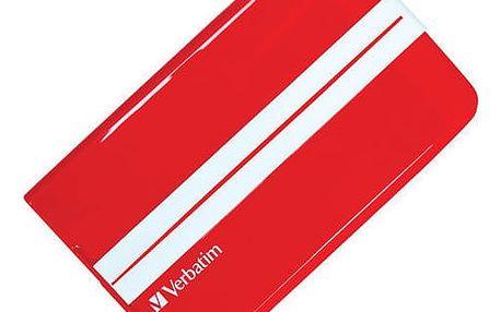 Verbatim Superspeed GT, USB 3.0 - 500GB, červený - 53084