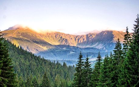 Podzim v hotelu Repiská v pokoji s výhledem na Tatry