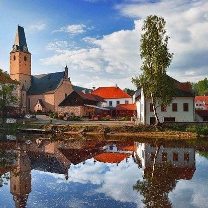 Romantika na jihu Čech s jídlem i relaxací