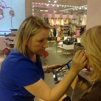 Až 120min. kurz líčení s vizážistkou + štětec na make-up