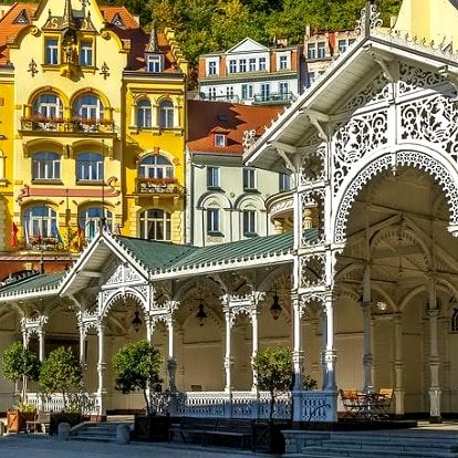 Spa Hotel Čajkovskij Palace****, Luxusní dovolená s wellness a polopenzí v slavných lázních