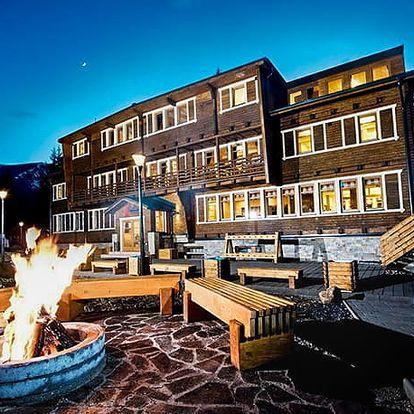 Eko-sport Hotel Björnson***, Stylový hotel v tradičním horském stylu v středisku Jasná