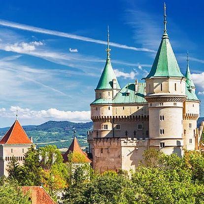 Hotel Regia***, 3* hotel pár minut chůze od všech atraktivit města Bojnice, s polopenzí a wellness