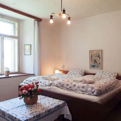 Kutná Hora, pronájem domu u jezera na 3 či 5 dní až pro 11 osob