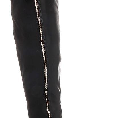 Kozačky nad kolena K52012B 39