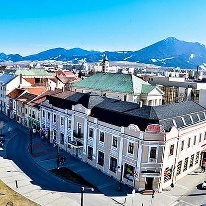 Hotel Europa ***, Liptovský Mikuláš, Slovensko - save 43%, Pohodlí v 3* hotelu v Liptovském Mikuláši s polopenzí