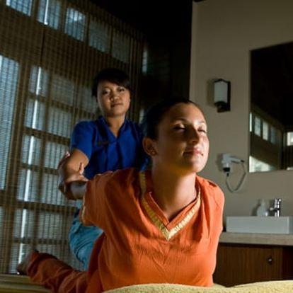 Thajská aroma čokoládová masáž pro 1-2 osoby na 60 minut