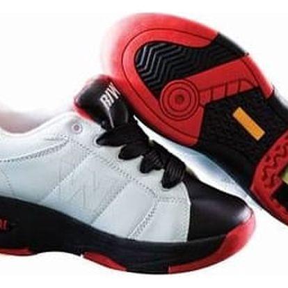 Koloboty - sportovní obuv s výsuvným kolečkem na patě