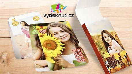 Hrací karty s vlastními fotografiemi včetně poštovného