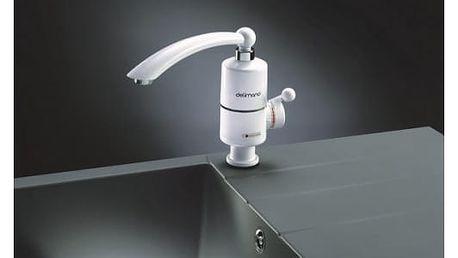 Baterie vodovodní Delimano s ohřevem vody bílý