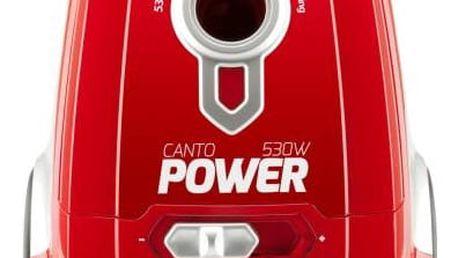 Vysavač podlahový ETA Canto 3481 90000 červený + Doprava zdarma