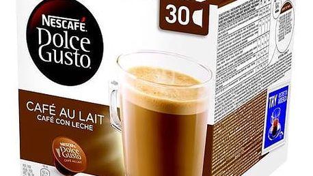 Kapsle pro espressa Nescafé Dolce Gusto Cafe AuLait 30 ks