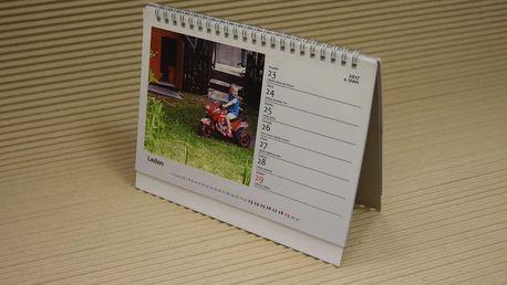 Fotokalendáře: stolní, nástěnný A4 nebo A3 + pošta v ceně