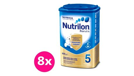 8x NUTRILON 5 ProNutra (800 g) - kojenecké mléko