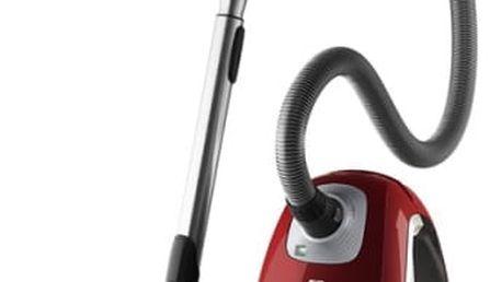 Vysavač podlahový Electrolux Ultra Silencer ZUSORIGWR+ červený