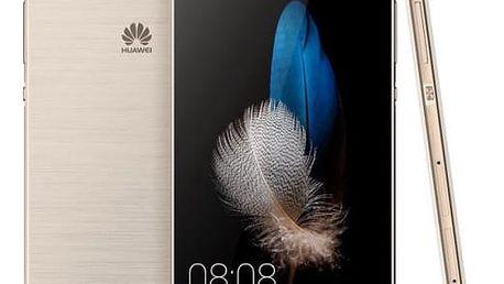 Mobilní telefon Huawei P8 Lite DS (SP-P8LITEDSGOM) zlatý