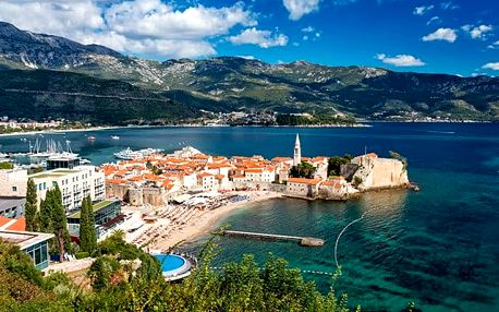 Hotel Tatjana***, Budva, Černá Hora - save 35%, Odpočinek v slunečném letovisku Budva s bazénem a polopenzí
