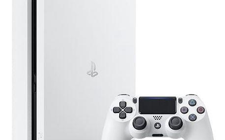 Herní konzole Sony SLIM 500GB (PS719816164) bílá