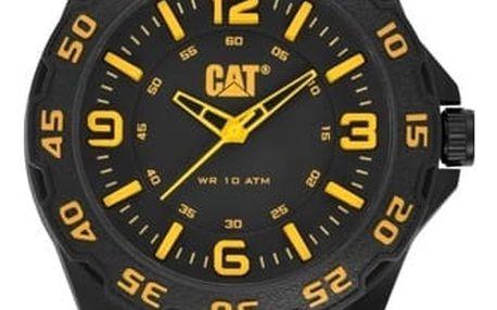 Černé hodinky Caterpillar, možnost osobní odběr v Praze