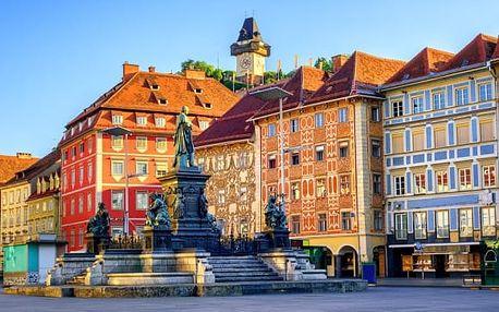 Rakousko: 3 dny pro 2 osoby vč.snídaní, sauny a fitness